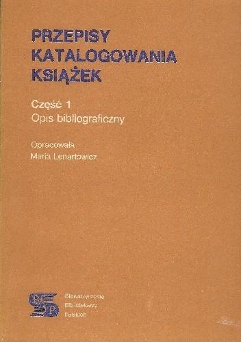 Okładka książki Przepisy katalogowania książek