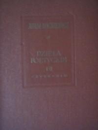 Okładka książki Dzieła poetyckie tom I i II