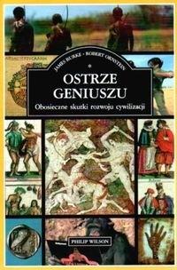 Okładka książki Ostrze geniuszu : obosieczne skutki rozwoju cywilizacji