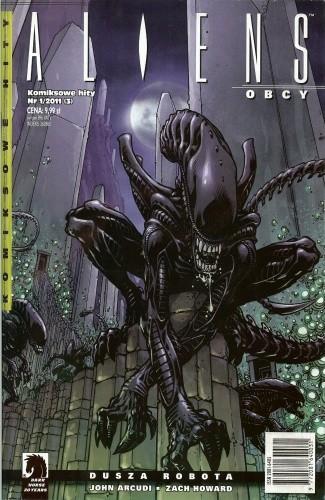 Okładka książki Aliens: Dusza robota