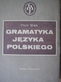 Okładka książki Gramatyka języka polskiego