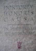 Doktorzy honoris causa. In perpetuam rei memoriam
