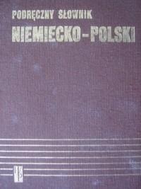 Okładka książki Podręczny słownik niemiecko-polski