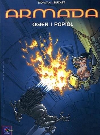 Okładka książki Armada - 01 - Ogień i popiół