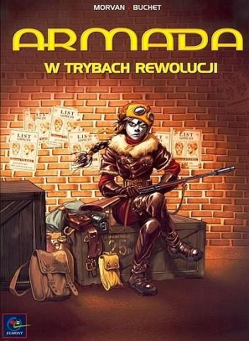 Okładka książki Armada - 03 - W trybach rewolucji