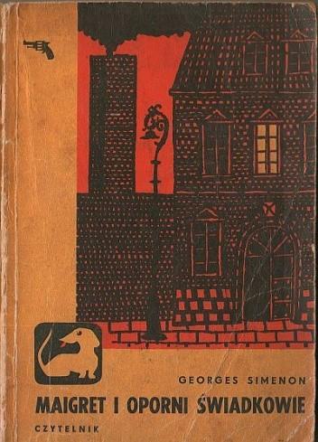 Okładka książki Maigret i oporni świadkowie