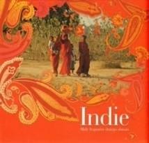 Okładka książki Indie. Mały fragment dużego obrazu