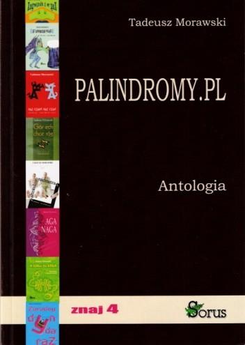 Okładka książki Palindromy.pl. Antologia