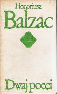 Okładka książki Dwaj poeci