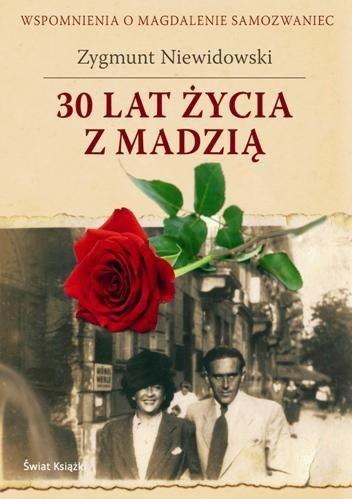 Okładka książki 30 lat życia z Madzią