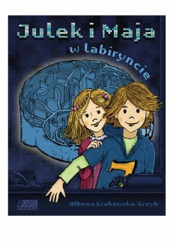 Okładka książki Julek i Maja w labiryncie