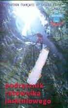 Okładka książki Podręcznik ratownika jaskiniowego