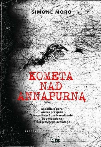 Okładka książki Kometa nad Annapurną