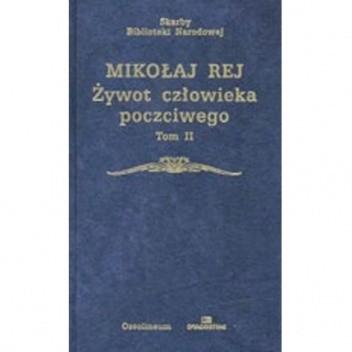 Okładka książki Żywot człowieka poczciwego Tom II