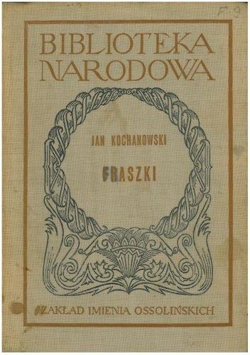 Okładka książki Fraszki