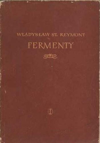 Okładka książki Fermenty