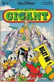 Okładka książki Gigant 2/92: Bilet numer 1