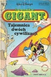 Okładka książki Gigant 3/93: Tajemnica dwóch cywilizacji