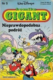Okładka książki Gigant 5/93: Nieprawdopodobna podróż