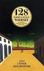 Okładka książki 128 bardzo ładnych wierszy stworzonych przez sześćdziesięcioro ośmioro poetek i poetów polskich