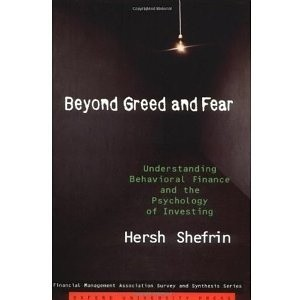 Okładka książki Beyond Greed and Fear: Understanding Behavioral Finance and the Psychology of Investing