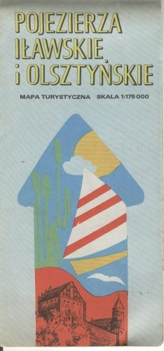 Okładka książki Pojezierza Iławskie i Olsztyńskie