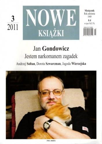 Okładka książki Nowe Książki, nr 3 (1105) / 2011