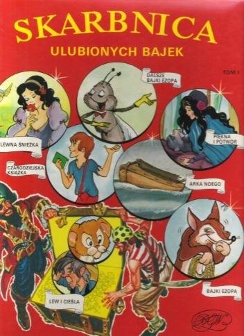 Okładka książki Skarbnica ulubionych bajek (tom 1)