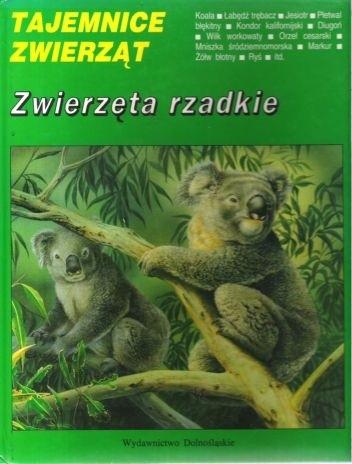 Okładka książki Zwierzęta rzadkie