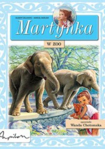 Okładka książki Martynka w zoo