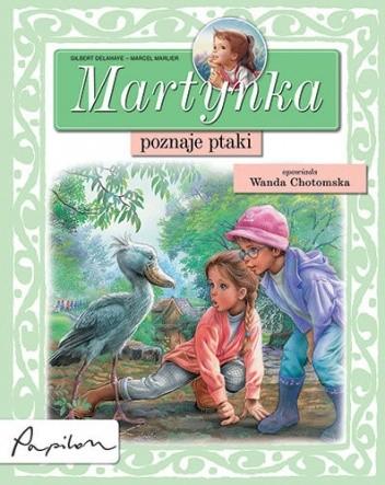 Okładka książki Martynka poznaje ptaki