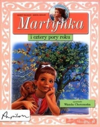 Okładka książki Martynka i cztery pory roku