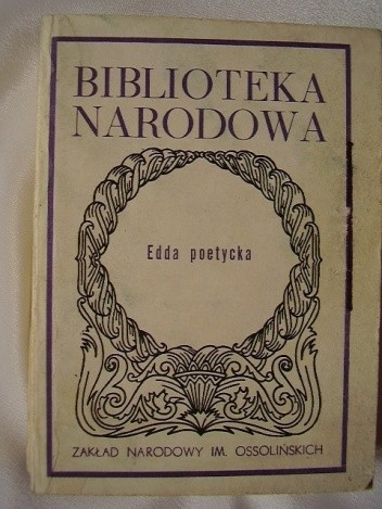Okładka książki Edda Poetycka