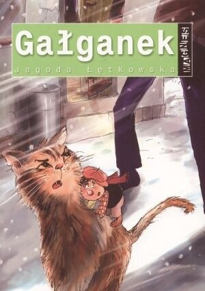 Okładka książki Gałganek