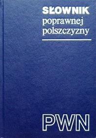 Okładka książki Słownik poprawnej polszczyzny