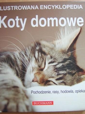 Okładka książki Koty domowe