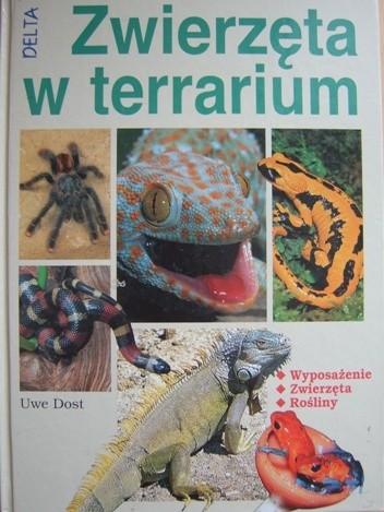 Okładka książki Zwierzęta w  terrarium
