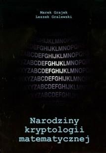 Okładka książki Narodziny kryptologii matematycznej