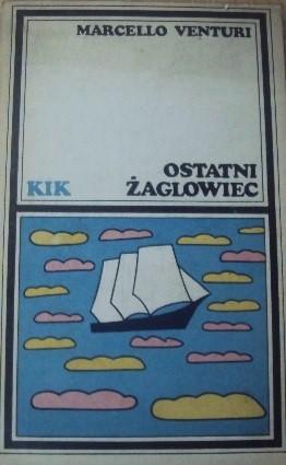 Okładka książki Ostatni żaglowiec