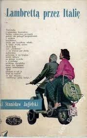 Okładka książki Lambrettą przez Italię