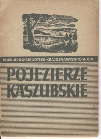 Okładka książki Pojezierze Kaszubskie