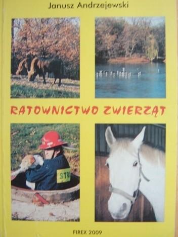 Okładka książki Ratownictwo zwierząt