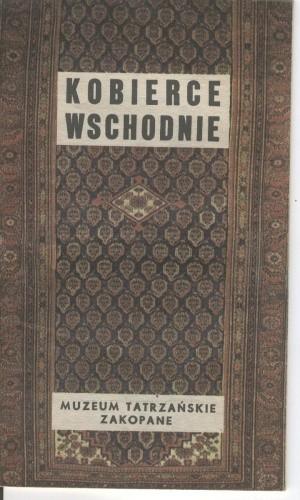 Okładka książki Kobierce wschodnie