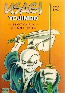 Okładka książki Usagi Yojimbo: Spotkania ze śmiercią