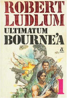 Okładka książki Ultimatum Bourne'a