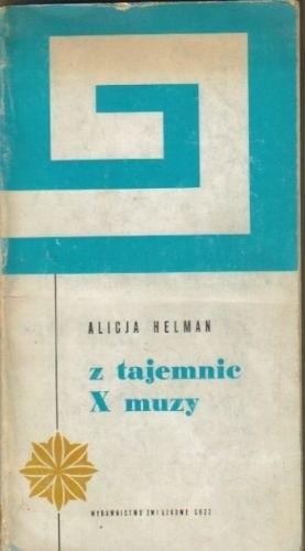 Okładka książki Z tajemnic X muzy