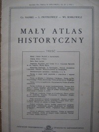 Okładka książki Mały atlas historyczny