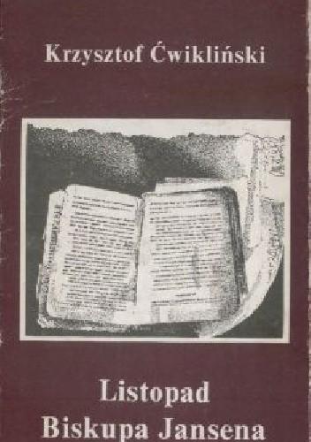 Okładka książki Listopad biskupa Jansena