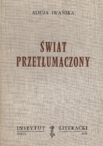 Okładka książki Świat przetłumaczony