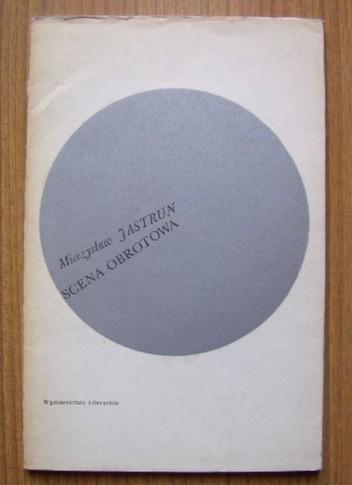 Okładka książki Scena obrotowa
